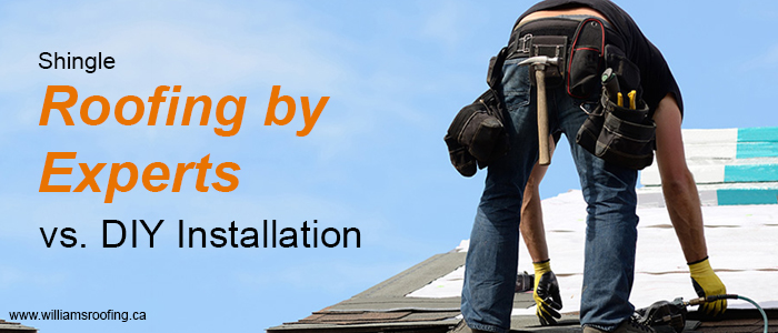 Shingle Roofing by Experts vs