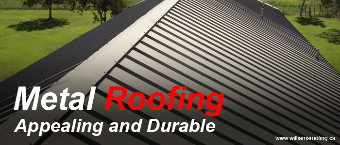 Metal Roofing- Appealing and Durable