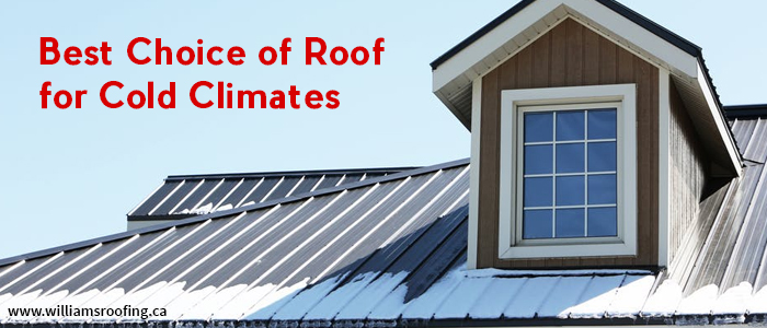 Best Choice of Roof for Cold Climates
